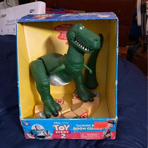 Toy Story 2 Talking Rex Room Guard for Sale in Brentwood, MD