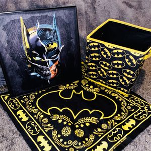 Batman* Storage Cube, Wall Picture and Bandana for Sale in San Jose, CA
