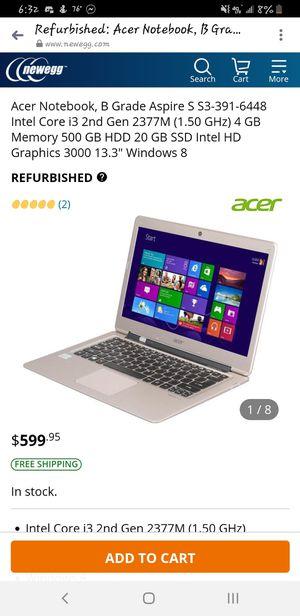 Acer 150$ obo for Sale in Evansville, IN