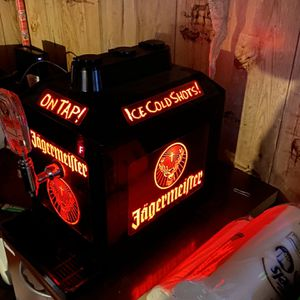 jagermeister 3 bottle tap machine for Sale in Richland City, IN