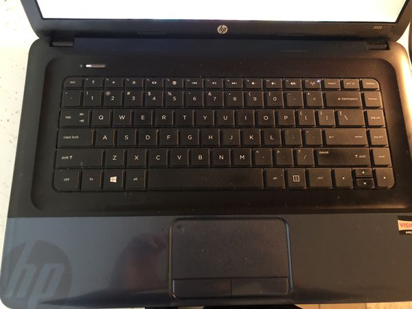 HP2000 notebook pc with Windows 8