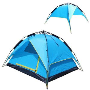 Pop Up Tents for Camping,3 Season Waterproof Lightweight Backpacking Tent come with Portable Carry Bag 8 Pegs and Ropes,Double Layer Double Doors por for Sale in San Dimas, CA