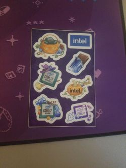 Intel Halloween Stickers for Sale in Ellensburg,  WA