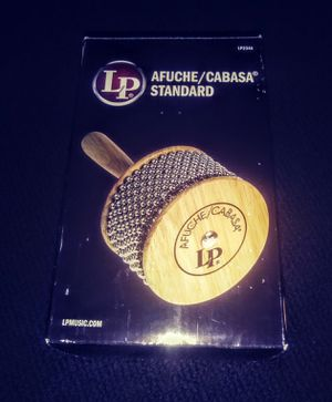 New LP Afuche/Cabasa Standard for Sale in Gold Hill, OR