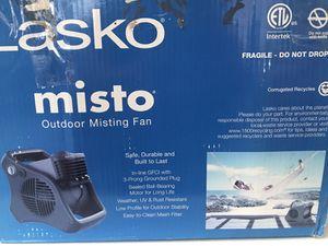 Outdoor misting fan for Sale in San Bernardino, CA