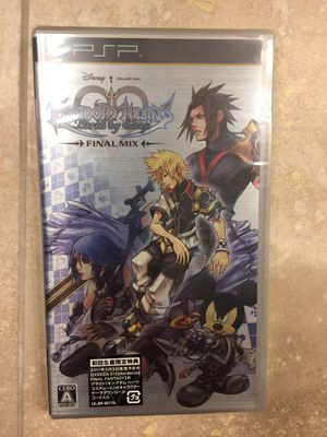 Birth by sleep kingdom hearts psp for Sale in Irvine, CA