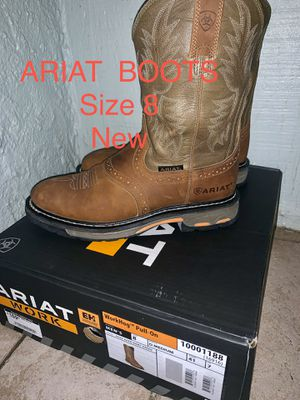 Ariat work hog boots size 8 for Sale in Tampa, FL