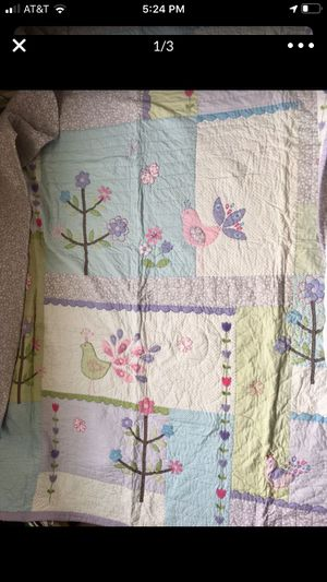full sized pottery barn quilt for Sale in Snoqualmie, WA