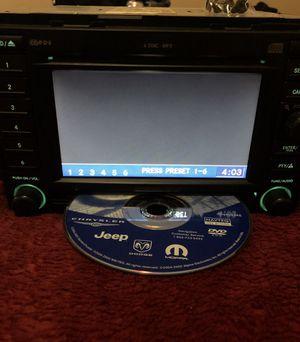 ⭐️2006 Dodge/Jeep/Chrysler Radio CD Player Navigation & DVD for Sale in Fresno, CA