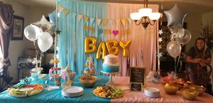 Gender Reveal Party Supplies and Centerpieces for Sale in Houston, TX