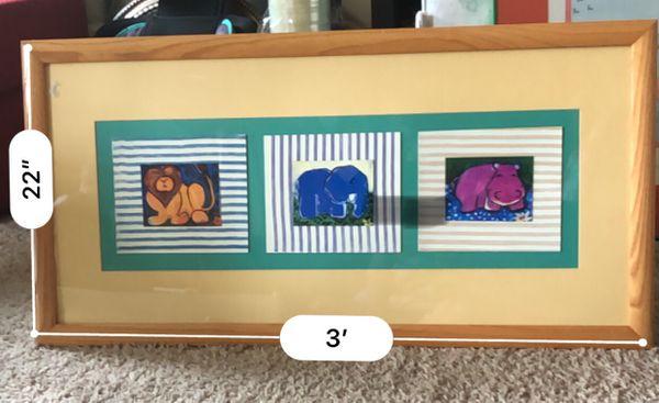 Zoo Parade in Phoenix Gallery custom frame