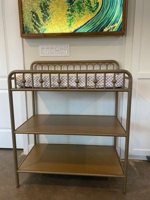 Brass changing table for Sale in Encinitas, CA