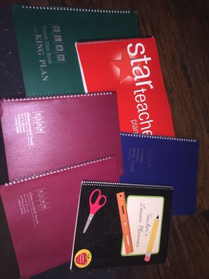 Lot of Teacher Planning and Record Books for Sale in Charlotte, NC