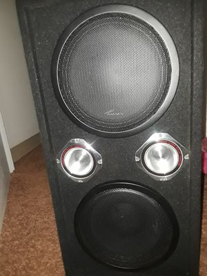 "Dual 10"" chuchero with metal tweeters. for Sale in FAIRMOUNT HGT, MD"