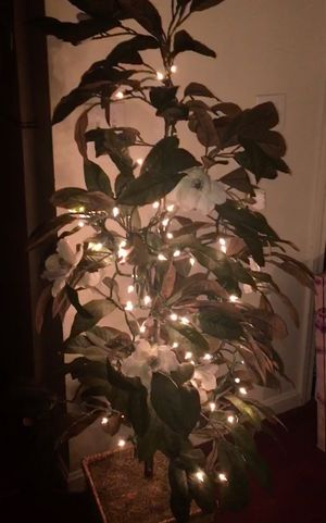 Artificial Tree/Plant with Flowers for Sale in Worcester, MA