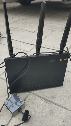 Asus AC1900 Dual Band Gigabit Router for Sale in Fullerton, CA