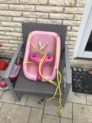 Little tikes infant swing seat for Sale in Wood Dale, IL