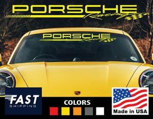 PORSCHE RACING Windshield Decal Sticker for Sale in Pompano Beach, FL