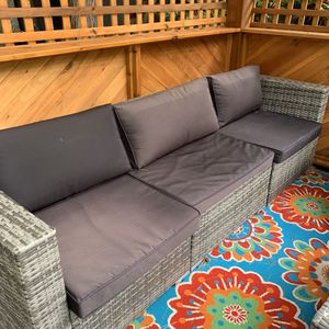 Patio furniture set! Couch, Chair, Table for Sale in Seattle, WA