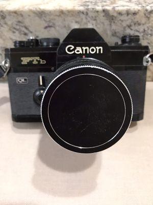 CanonFTb QL Black 35mm SLR film Camera for Sale in Davie, FL