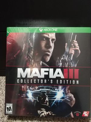 Mafia 3 Collector's Edition (Xbox One) for Sale in Fort Lauderdale, FL