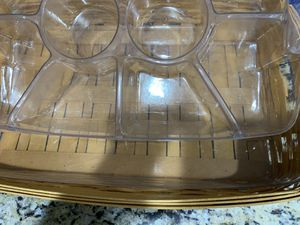 Longaberger veggie tray for Sale in Glendale, AZ