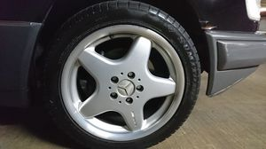 "17"" Staggered AMG ALLOY WHEELS & TIRES-for Mercedes CLK, Audi, VW for Sale in Frederick, MD"