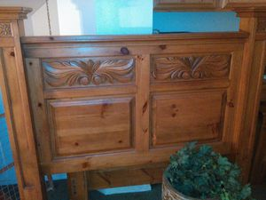Solid Oak Bed Frame for Sale in Corona, CA
