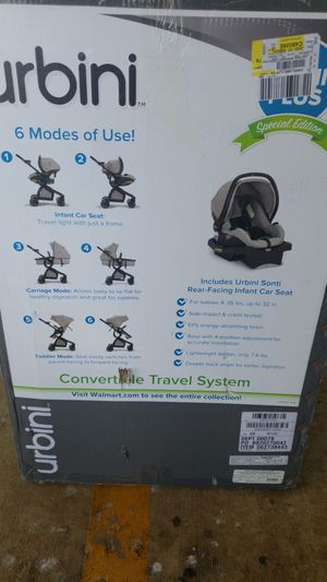 Brand new Urbini includes sonti face rear-facing infant car seat for Sale in Baltimore, MD