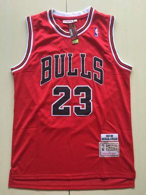 Michael Jordan red Hardwood Classic Jerseys for Sale in Aventura, FL