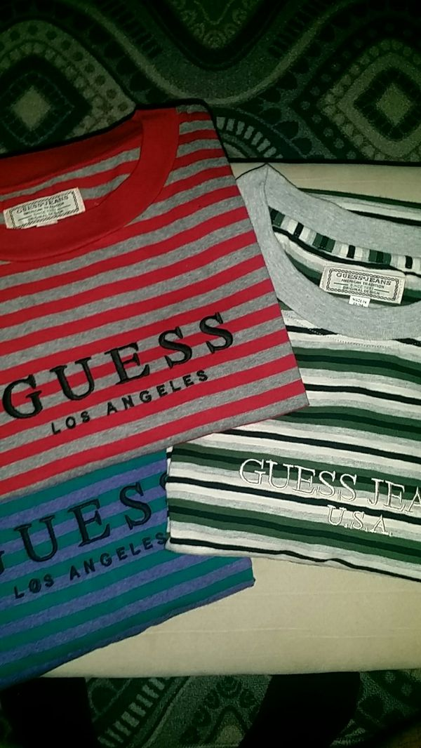 099a3e1c7d Guess jeans striped shirts for Sale in Los Angeles