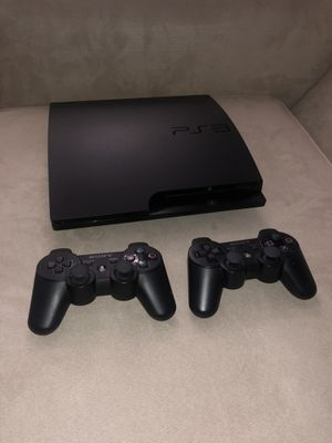 Playstation 3 | 2 Controllers | 3 Games for Sale in Woburn, MA