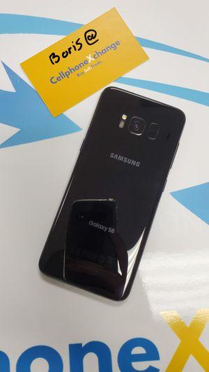 Galaxy s8 Unlocked Desbloqeado 64gb tmobile metro att cricket for Sale in Garland, TX