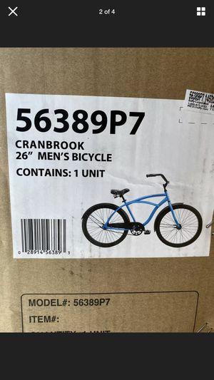 "Huffy 26"" Cranbrook Mens Comfort Cruiser Bike Matte Blue - NEW for Sale in Seattle, WA"