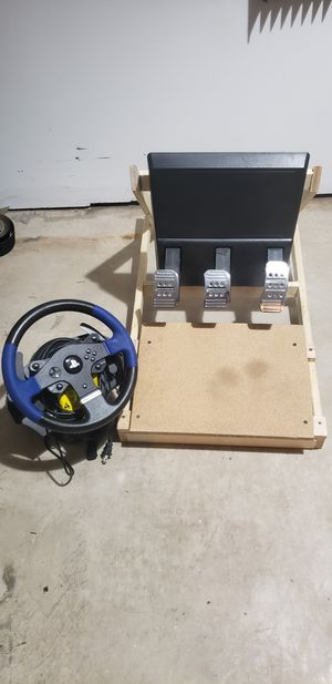 Thrustmaster T-150 Ps4 Racing Wheel and Pedals for Sale in Festus, MO