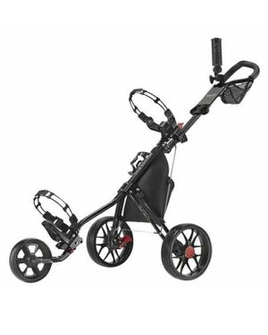 CaddyTek Deluxe 3 Wheel Golf Push Cart Version 3 CaddyLite 11.5 V3 for Sale in Ontario, CA