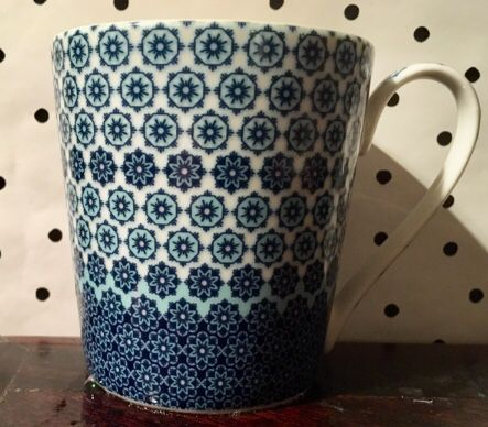Denby England monsoon floral mug teacup