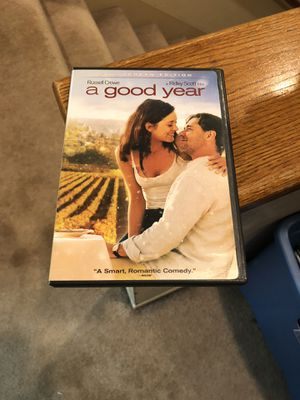 A Good Year DVD Movie Russell Crowe 2006 Freddie Highmore for Sale in Buena Park, CA
