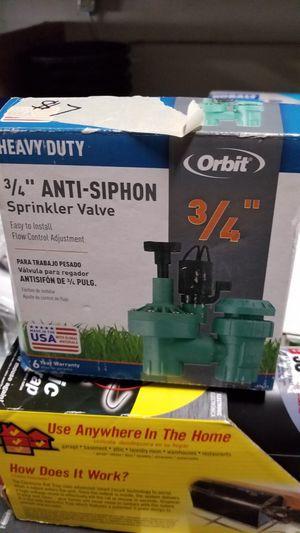 orbit sprinkler valve for Sale in Escondido, CA