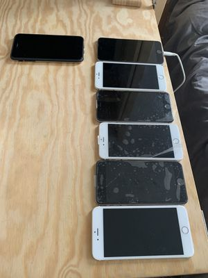 6 Iphone 6plus All iCloud lock 🔐 240$ for all 6 for Sale in St. Petersburg, FL