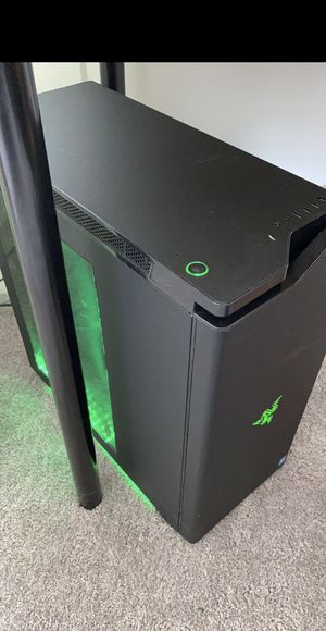 PC with 27inch curved gaming monitor and a Harman/Kardon speaker for Sale in Aventura, FL