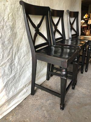 three bar stools for Sale in Tacoma, WA
