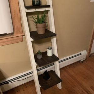 Leaning Ladder Shelf for Sale in New Bedford, MA