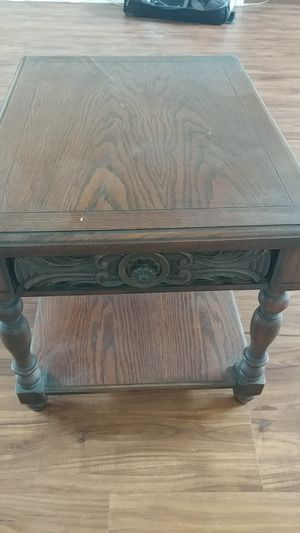 Solid wood nightstand for Sale in Costa Mesa, CA