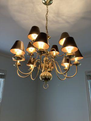 Large Traditional Chandelier - 12 arms for Sale in New Albany, OH