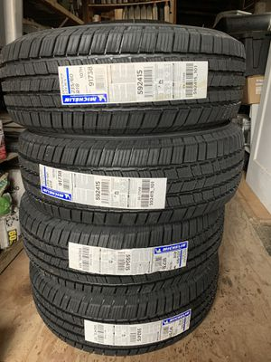 Michelin size 235/60r18 for Sale in Vallejo, CA