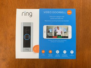 Ring Video Doorbell Pro - Brand New for Sale in MIDDLE CITY WEST, PA