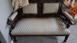 Beautiful Antique Carved Settee for Sale in Vancouver, WA