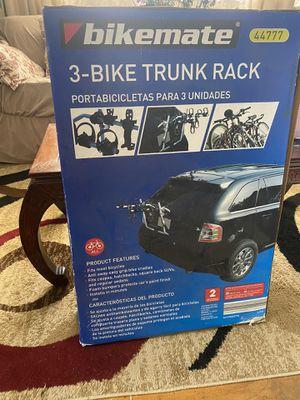 Bike trunk rack for Sale in Columbus, OH