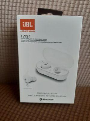 JBL TWS4 EARPHONES, JBL BLUETOOTH EARPHONES, JBL WHITE BLUETOOTH EARPHONES, JBL EARPHONES, JBL BLUETOOTH, BLUETOOTH, JBL for Sale in Los Angeles, CA